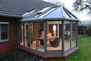 Фото 24 Пристроенная к дому веранда из поликарбоната: особенности возведение и 70+ стильных и надежных конструкций