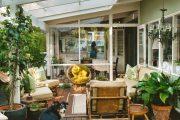 Фото 30 Пристроенная к дому веранда из поликарбоната: особенности возведение и 70+ стильных и надежных конструкций
