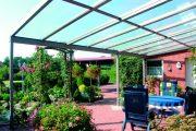 Фото 31 Пристроенная к дому веранда из поликарбоната: особенности возведение и 70+ стильных и надежных конструкций