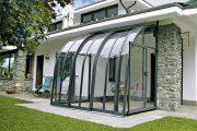 Фото 4 Пристроенная к дому веранда из поликарбоната: особенности возведение и 70+ стильных и надежных конструкций
