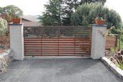 Фото 24 Автоматические ворота с дистанционным открытием: советы по выбору и все хитрости благоустройства территории частного коттеджа и гаража