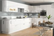 Фото 12 Белые глянцевые кухни: секреты гармоничного оформления и 80+ фото вдохновляющих интерьеров