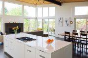 Фото 21 Белые глянцевые кухни: секреты гармоничного оформления и 80+ фото вдохновляющих интерьеров