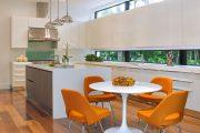 Фото 31 Белые глянцевые кухни: секреты гармоничного оформления и 80+ фото вдохновляющих интерьеров