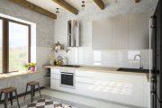 Фото 39 Белые глянцевые кухни: секреты гармоничного оформления и 80+ фото вдохновляющих интерьеров