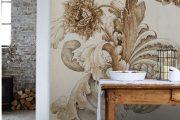 Фото 4 Бежевые обои в интерьере: 80+ эстетически выверенных интерьеров на стыке роскоши и благородства