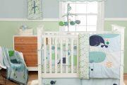 Фото 41 Бортики в кроватку для новорожденных: 75+ избранных идей для безопасного и комфортного отдыха малыша