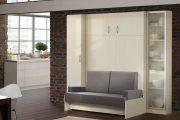Фото 50 Диван-трансформер в двухъярусную кровать: 70 максимально удобных и практичных идей для вашей квартиры