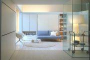 Фото 2 Диван-трансформер в двухъярусную кровать: 70 максимально удобных и практичных идей для вашей квартиры
