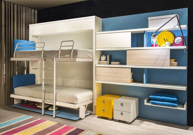Диван-трансформер как часть детской комнаты