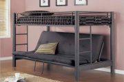 Фото 13 Диван-трансформер в двухъярусную кровать: 70 максимально удобных и практичных идей для вашей квартиры