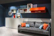 Фото 14 Диван-трансформер в двухъярусную кровать: 70 максимально удобных и практичных идей для вашей квартиры