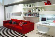 Фото 15 Диван-трансформер в двухъярусную кровать: 70 максимально удобных и практичных идей для вашей квартиры