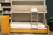 Фото 16 Диван-трансформер в двухъярусную кровать: 70 максимально удобных и практичных идей для вашей квартиры