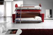 Фото 4 Диван-трансформер в двухъярусную кровать: 70 максимально удобных и практичных идей для вашей квартиры