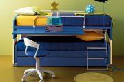 Фото 34 Диван-трансформер в двухъярусную кровать: 70 максимально удобных и практичных идей для вашей квартиры