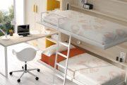 Фото 36 Диван-трансформер в двухъярусную кровать: 70 максимально удобных и практичных идей для вашей квартиры