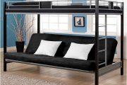 Фото 40 Диван-трансформер в двухъярусную кровать: 70 максимально удобных и практичных идей для вашей квартиры