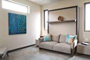 Фото 41 Диван-трансформер в двухъярусную кровать: 70 максимально удобных и практичных идей для вашей квартиры