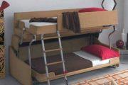 Фото 6 Диван-трансформер в двухъярусную кровать: 70 максимально удобных и практичных идей для вашей квартиры