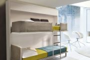 Фото 8 Диван-трансформер в двухъярусную кровать: 70 максимально удобных и практичных идей для вашей квартиры