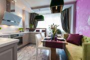 Фото 1 Диван на маленькой кухне: обзор практичных моделей диванов для комфортной кухонной зоны