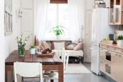 Фото 13 Диван на маленькой кухне: обзор практичных моделей диванов для комфортной кухонной зоны