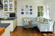 Фото 34 Диван на маленькой кухне: обзор практичных моделей диванов для комфортной кухонной зоны