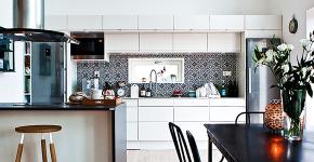 Дизайн совмещенной кухни-гостиной с барной стойкой: выбор планировки, стили и 70+ идей для вдохновения фото