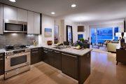 Фото 18 Дизайн совмещенной кухни-гостиной с барной стойкой: 75 мультифункциональных и современных интерьеров