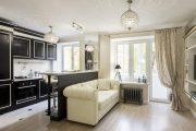 Фото 4 Дизайн совмещенной кухни-гостиной с барной стойкой: выбор планировки, стили и 70+ идей для вдохновения