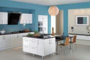 Фото 25 Дизайн совмещенной кухни-гостиной с барной стойкой: 75 мультифункциональных и современных интерьеров