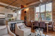 Фото 26 Дизайн совмещенной кухни-гостиной с барной стойкой: 75 мультифункциональных и современных интерьеров
