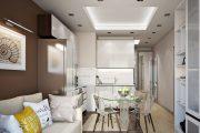 Фото 28 Дизайн совмещенной кухни-гостиной с барной стойкой: выбор планировки, стили и 70+ идей для вдохновения