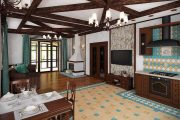 Фото 30 Дизайн совмещенной кухни-гостиной с барной стойкой: 75 мультифункциональных и современных интерьеров