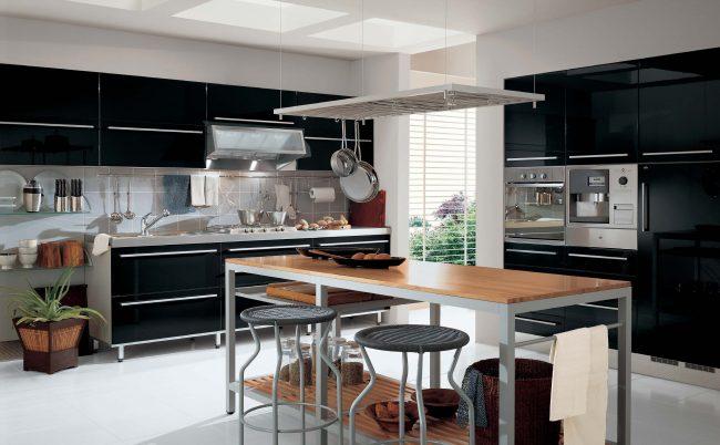 Кухня совмещенная с гостиной - лучшее решение для квартиры и загородного дома