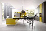 Фото 36 Дизайн совмещенной кухни-гостиной с барной стойкой: 75 мультифункциональных и современных интерьеров