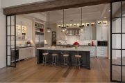 Фото 45 Дизайн совмещенной кухни-гостиной с барной стойкой: 75 мультифункциональных и современных интерьеров