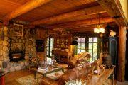 Фото 41 Интерьер деревенского дома: стилистические тонкости оформления и 85+ уютных и комфортных вариантов