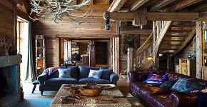 Интерьер деревенского дома: стилистические тонкости оформления и 85+ уютных и комфортных вариантов фото