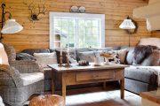 Фото 2 Интерьер деревенского дома: стилистические тонкости оформления и 85+ уютных и комфортных вариантов