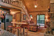Фото 5 Интерьер деревенского дома: стилистические тонкости оформления и 85+ уютных и комфортных вариантов