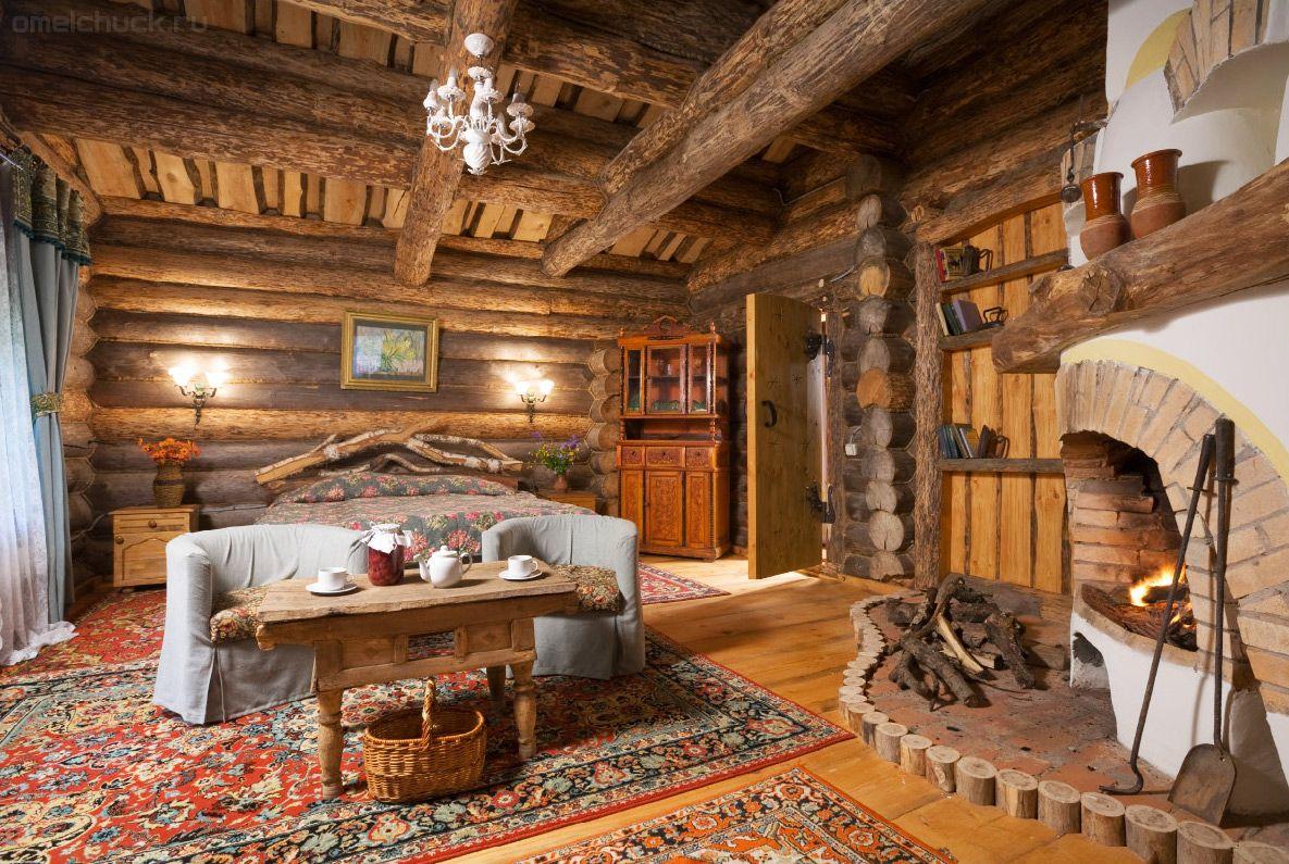 Ремонт деревенских домов внутри
