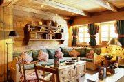 Фото 71 Интерьер деревенского дома: стилистические тонкости оформления и 85+ уютных и комфортных вариантов