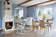 Фото 73 Интерьер деревенского дома: стилистические тонкости оформления и 85+ уютных и комфортных вариантов