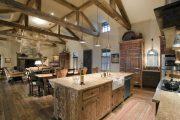 Фото 46 Интерьер деревенского дома: стилистические тонкости оформления и 85+ уютных и комфортных вариантов