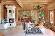 Фото 21 Интерьер деревенского дома: стилистические тонкости оформления и 85+ уютных и комфортных вариантов
