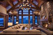 Фото 25 Интерьер деревенского дома: стилистические тонкости оформления и 85+ уютных и комфортных вариантов