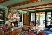Фото 26 Интерьер деревенского дома: стилистические тонкости оформления и 85+ уютных и комфортных вариантов