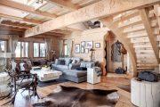 Фото 31 Интерьер деревенского дома: стилистические тонкости оформления и 85+ уютных и комфортных вариантов